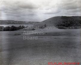 [Golf Course, Trailers, Campers, and Camp Site at Lake Katepwa]