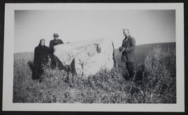 "Original ""Crowstand"" or ""Eagle Stone"", near Kamsack and Coté reserve"