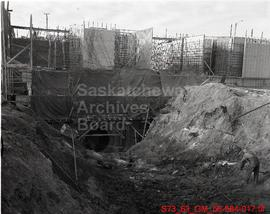 "Saskatoon - Construction of ""Water Intake"" - S.P.C. Plant"