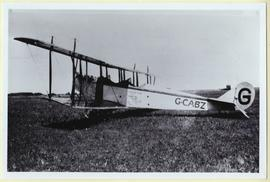 Curtis JM (Canuck) airplane belonging to Don Brown of Yorkton