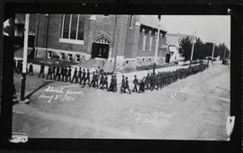 65th Battalion church parade to St. Paul's Presbyterian Church