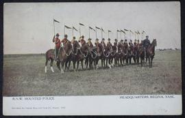 R.N.W. Mounted Police Headquarters, Regina, Sask.