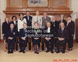 Lieutenant Governor Haverstock attends various presentations