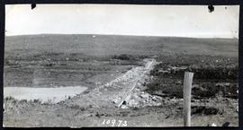 Canadian National Railway dam at Moose Jaw Junction