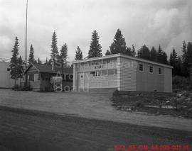 [Liquor Board Store, Bank of Montreal, and Handicraft Shop in La Ronge, Sask.]