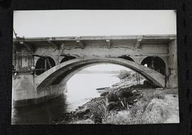 "25th Street bridge showing arch ""B"" taken from north side of bridge."