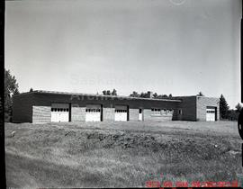 Exterior view of nursery garage - Public Works