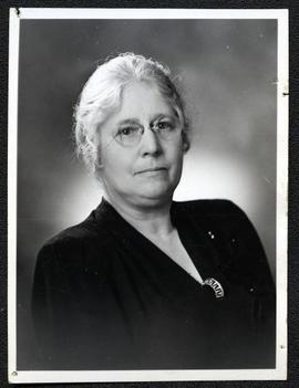 Winnifred Brears, President of the Saskatchewan Women's Liberal Association