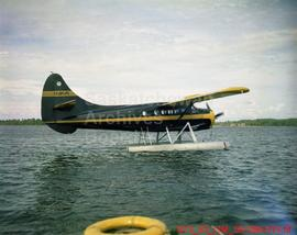 S.G.A. Otter Taxiing at La Ronge