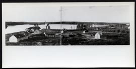 General view of Stanley Mission from the report of E. Deville, Ottawa, February 19, 1921