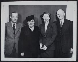 David Smith with Gertrude Murray and E.F. Holliday