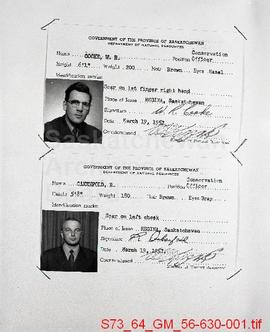 [Conservation Officer Identification Cards]