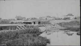 C.P.R. dam and fishway at Moose Jaw
