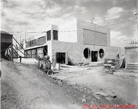 [Kindersley - Extension to S.P.C. Power Plant Under Construction]