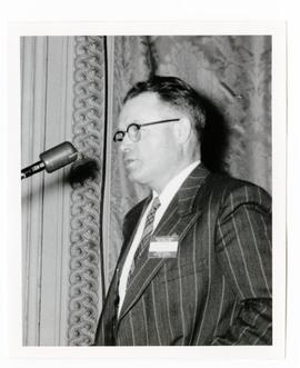 Cliff Whiting speaking as a municipal councillor