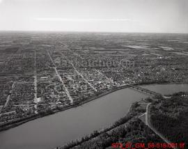 Aerial View of Prince Albert, Looking South