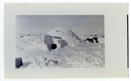 An igloo near Churchill, Manitoba