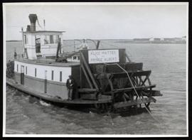 """Alice Mattes of Prince Albert"" on Saskatchewan River"