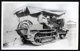 Argue's caterpillar tractor