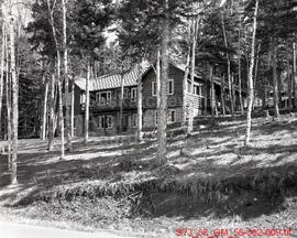 "[A Cottage Named ""Halcyon"" and the Community at Waskesiu]"