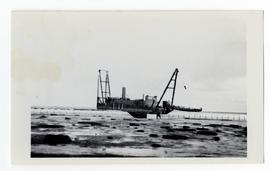 A dredge at Port Nelson