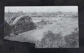 25th Street bridge under construction.