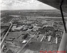 [Aerial photographs of University of Saskatchewan area of Saskatoon]