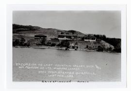 The main buildings as seen from the S.S. Qu'Appelle on Last Mountain Lake