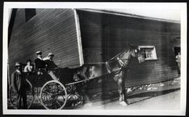 Carriage specially built for John Cherry of Yorkton, by McLoughlin of Oshawa