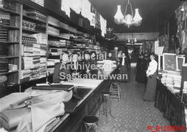 Interior of E.J. Brooks Store, Indian Head