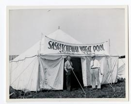 A Saskatchewan Wheat Pool rest rent, location not identified