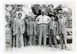 Members of the Japanese wheat mission to Canada