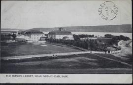View of the mission, Lebret, near Indian Head, Sask.