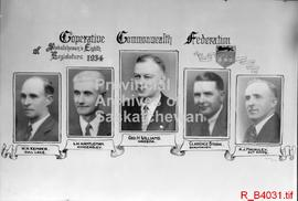 C.C.F. members of Eighth Legislature