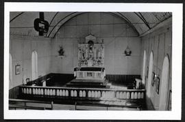 Interior of Portage La Loche church