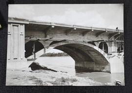 "25th Street bridge showing arch ""B"" taken from south side of bridge."