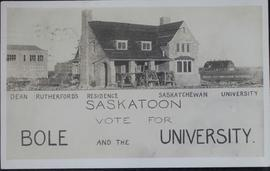 Dean Rutherford's residence at the U of S