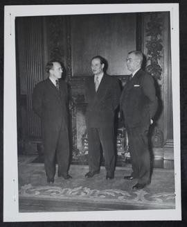 John Fisher, W. J. Patterson and T. C. Douglas