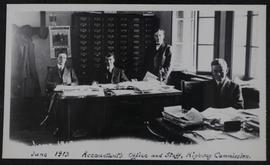 Accountant's office and staff