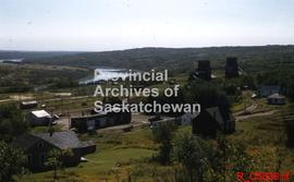 View of the town and the North Saskatchewan River
