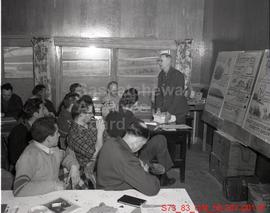 [Fred Warburton Lectures on Fire Prevention at the Prospectors School in Lac La Ronge]